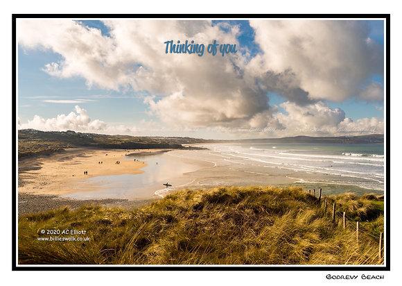 Godrevy Beach E-Card
