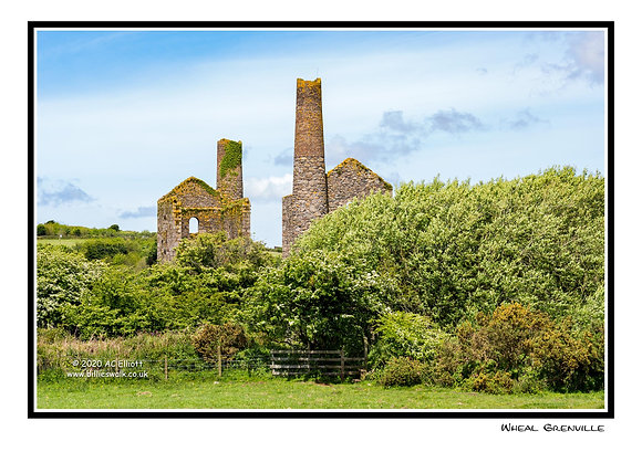 Wheal Grenville Mine Greeting Card
