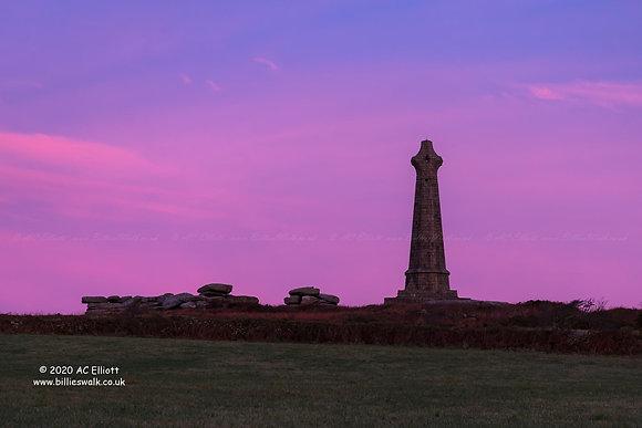 Basset Monument sunrise