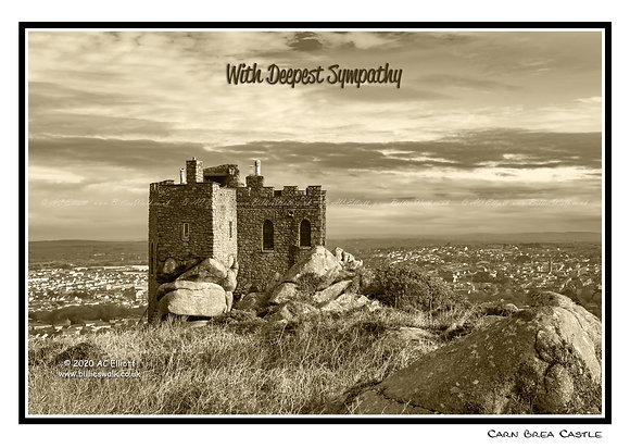Carn Brea Castle E-Card
