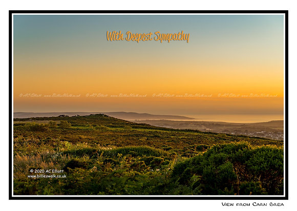 View from Carn Brea E-Card