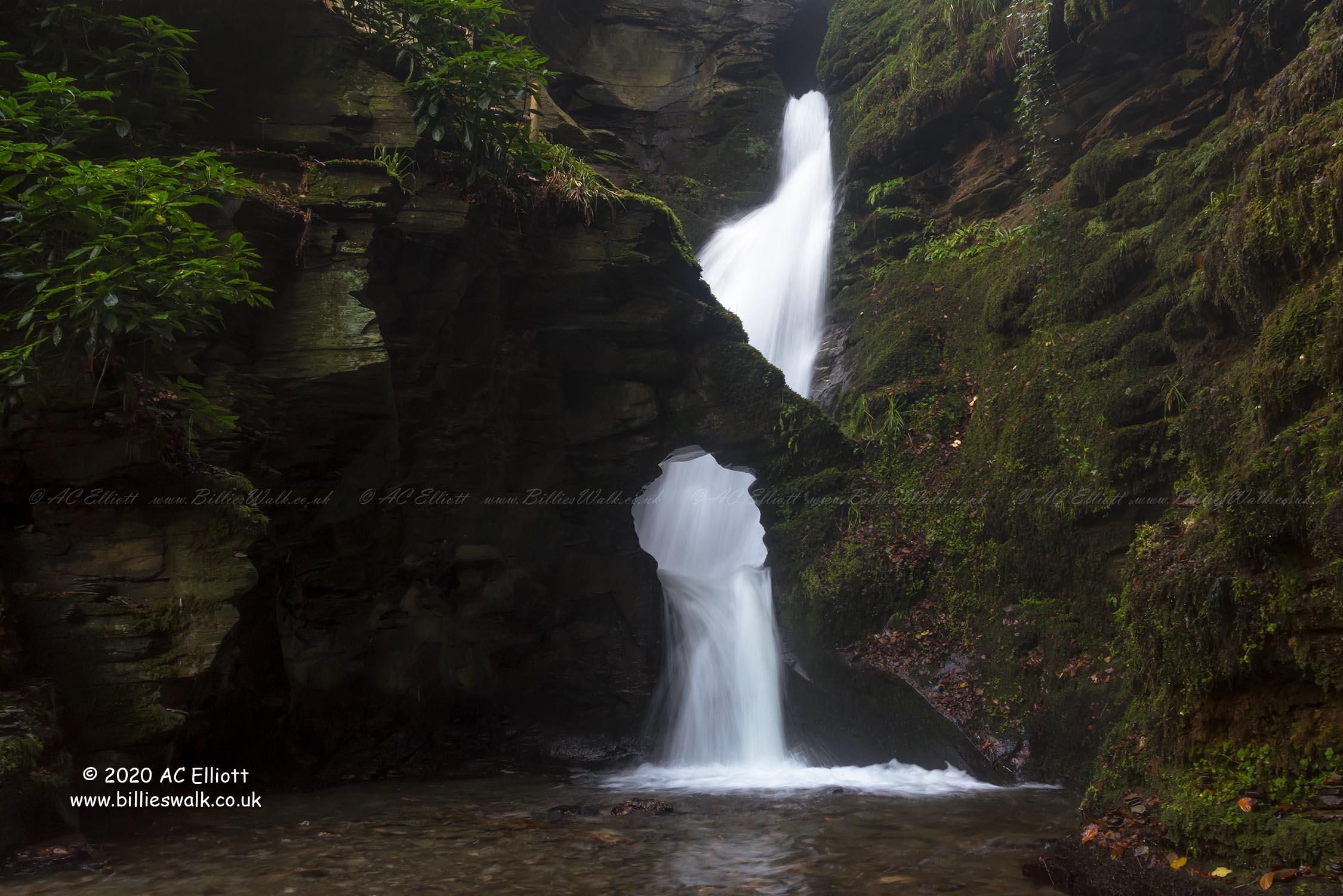 St Nectan's Glen Waterfall