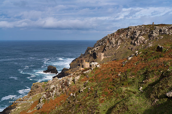 Botallack Mine's Crowns Engine Houses