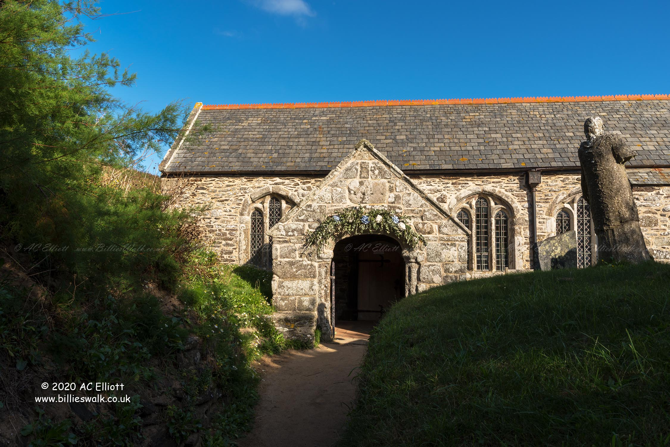 St Winwaloe, The Church of the Storms