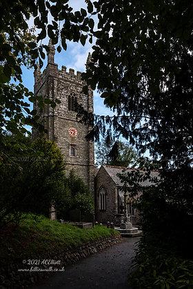 Kenwyn Parish Church photo and fine art print