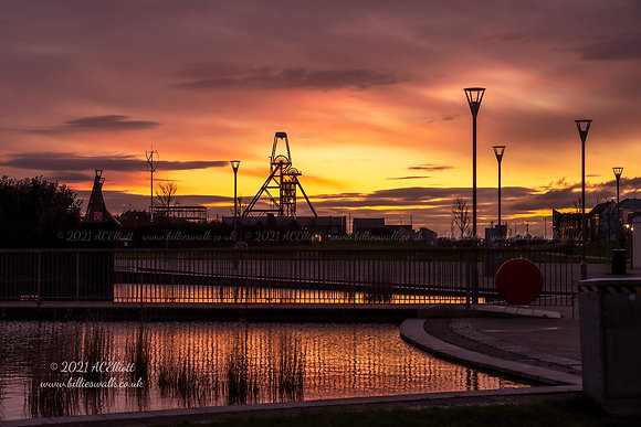 South Crofty sunset