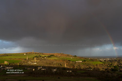 Carn Brea rainbow