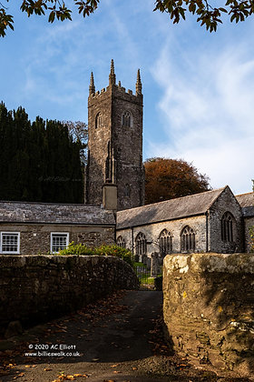 St Nonna's Church at Altarnun Photograph and Fine Art Print