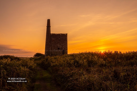 Greenburrow Pumping Engine House sunset