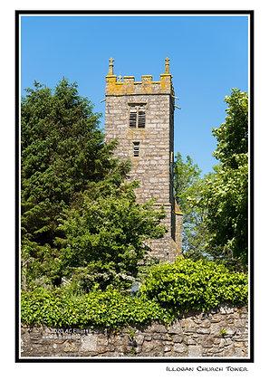 Illogan Churchtower Greeting Card