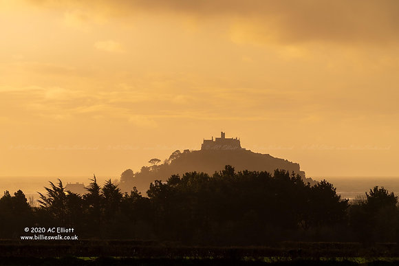 St Michael's Mount hazy morning