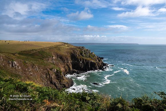 The Lizard Peninsula coastline Photograph and Fine Art Print