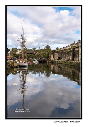 Charlestown Harbour Greeting Card