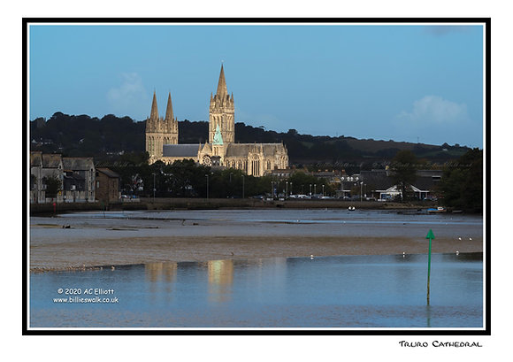Truro Cathedral Greeting Card