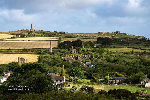 Carn Brea and West Basset