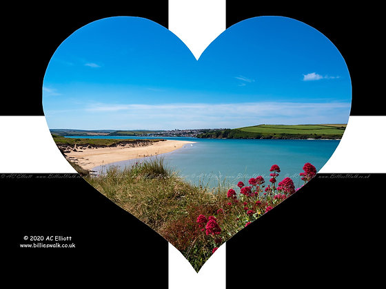 Brea Beach and Padstow heart