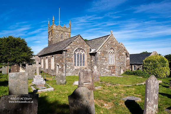 St Mellanus Church, Mullion