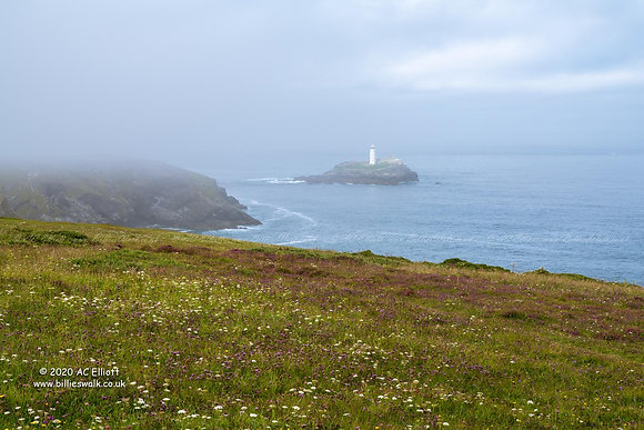 Godrevy Lighthouse mist