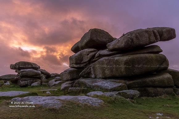 The rocks of Carn Brea