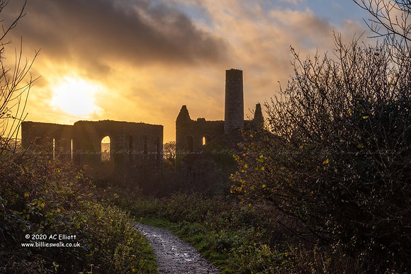 South Wheal Frances Mine hazy