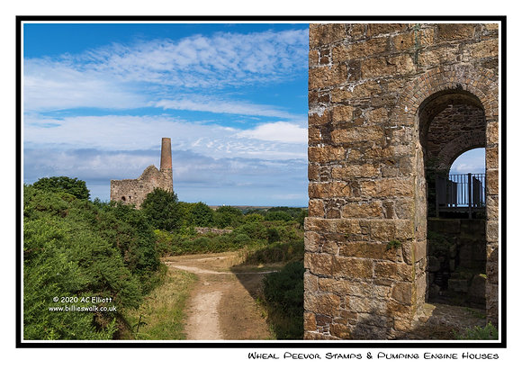 Wheal Peevor Stamps & Pumping Engine Houses