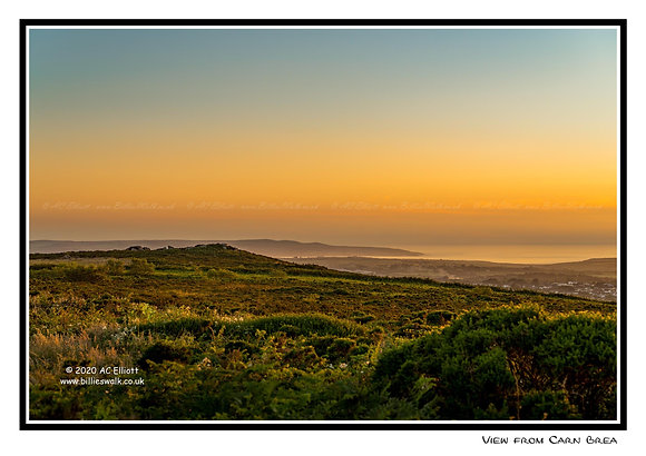View from Carn Brea