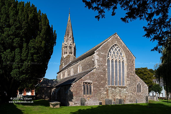 St Bartholomew's Parish Church, Lostwithiel photo and fine art print
