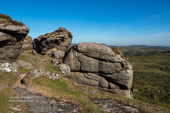Saddle Tor, Dartmoor photo and fine art print