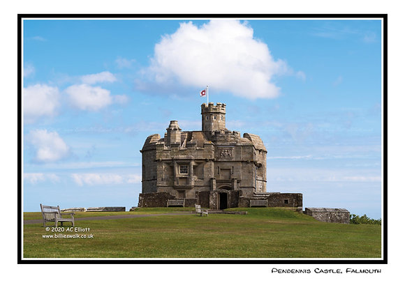 Pendennis Castle Greeting Card