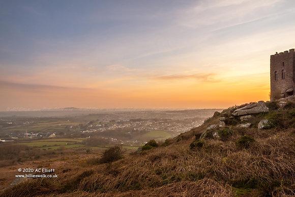 Carn Brea view