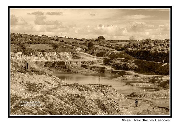 Wheal Maid Tailing Lagoons