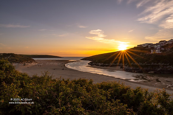 Gannel Estuary & Crantock Beach