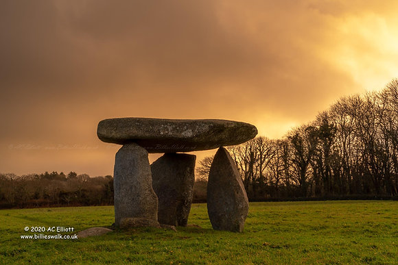 Carwynnen Quoit & Troon Walk