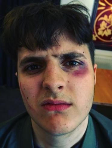 Lewis makeup