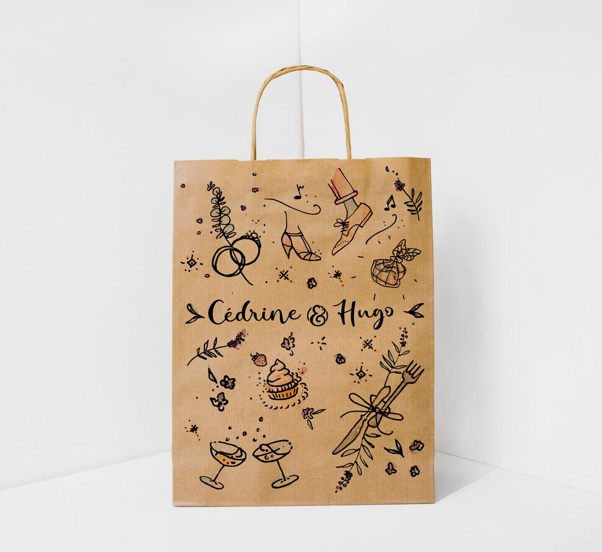 Favour bag