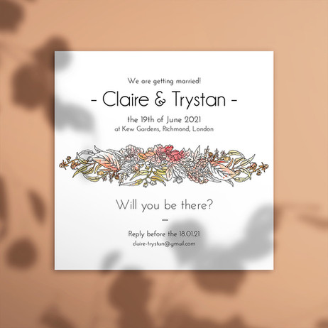 Claire & Trystan