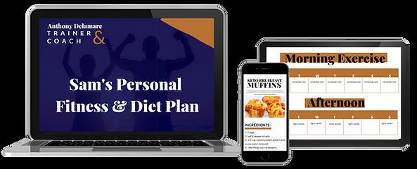 Fitness plan example