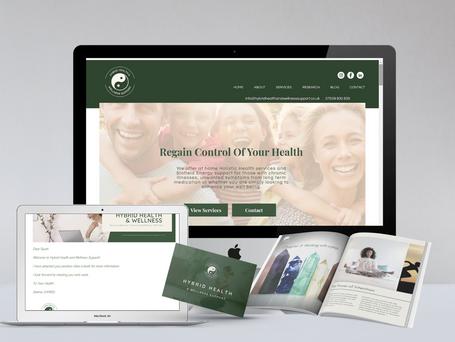 Website I Full Branding I E-Books