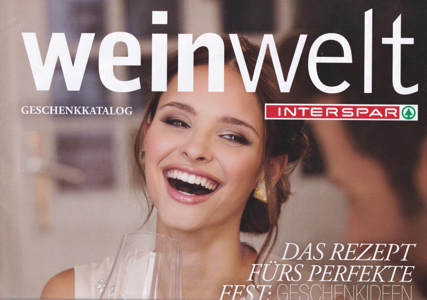 Interspar Weinwelt Kampagne