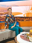 Julia Furdea Puls 4 TV Moderatorin Cafe Puls