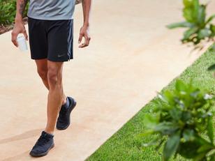 If you can't run; walk...