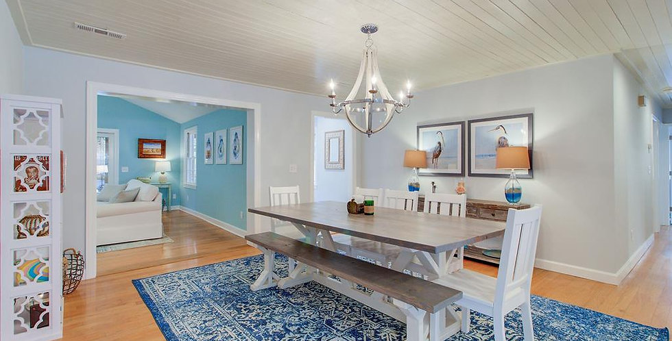 Classic Gray Southern Charm Table