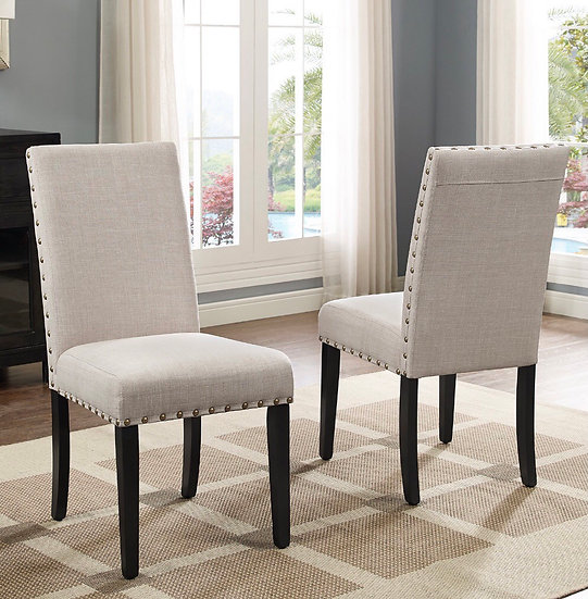 Buttoned Upholstered Dining Chair