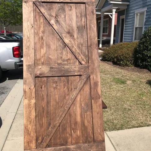 Barn Door: Special Walnut