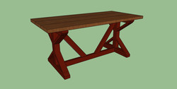southern charm design special walnut red