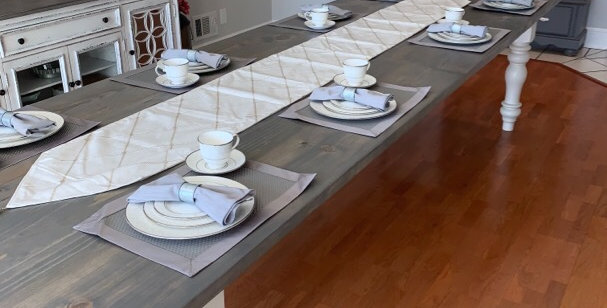 The Oversized Traditional Farm Table