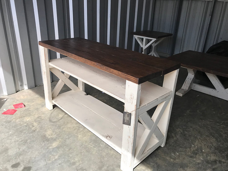 Farmhouse Entertainment Stand/Buffet/Entry Table