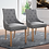 Thumbnail: Elegant Tufted Dining/Accent Chair