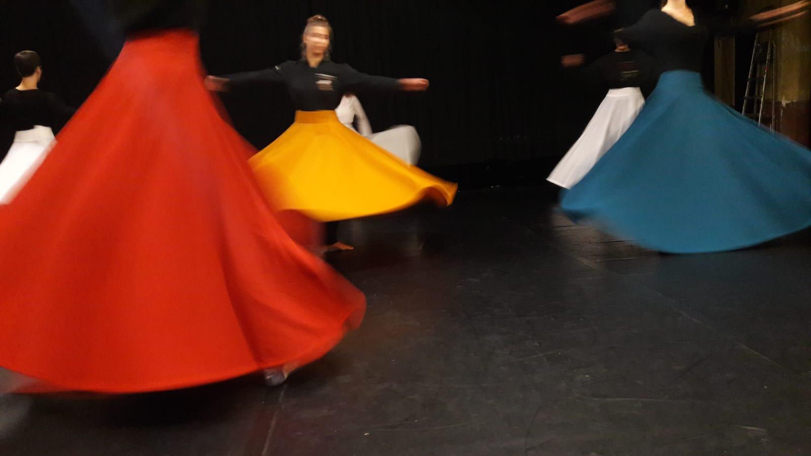 Workshop Dervich Contemporain / danse sufi et danse Contemporaine 2020 / Photo par Gennaro Festa
