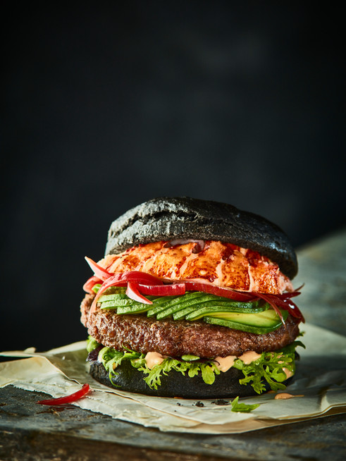 Burger Foodstyling
